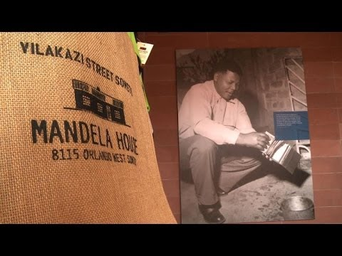 Mandela's early life in Soweto, South Africa's biggest township