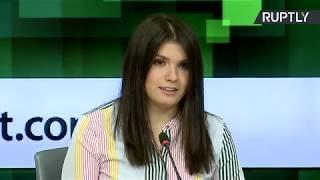 Пресс-конференция Варвары Карауловой