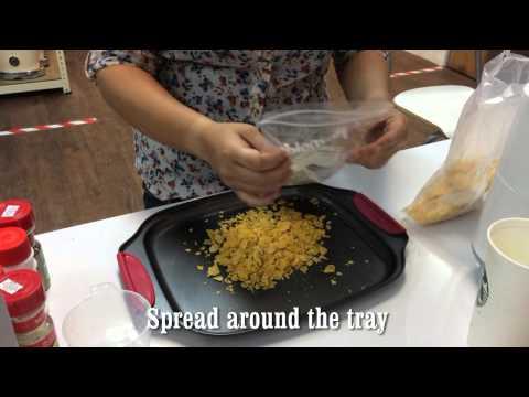 Honey Cornflakes White Bread Using Mayer Bread Maker