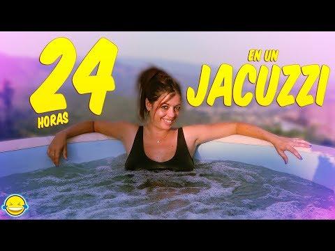 24 HORAS EN EL JACUZZI CHALLENGE!!BEGO acepta el reto de JORDI Momentos Divertidos