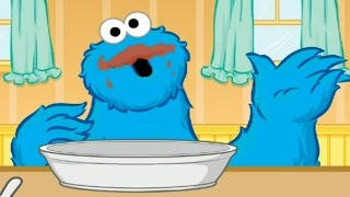Sesame Street Cookie Monster Alphabet Soup Children Game