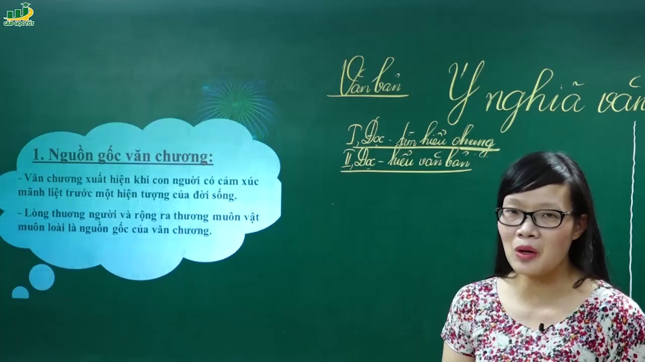 Ngữ Văn Lớp 7– Phân tích văn bản Ý nghĩa văn chương Hoài Thanh (P2)|Nghị luận hiện đại Việt Nam