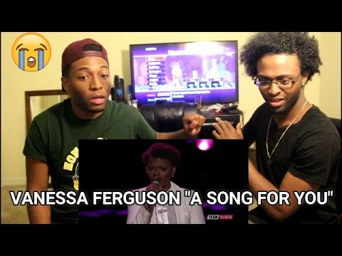 """The Voice 2017 Vanessa Ferguson - Top 12: """"A Song for You"""" (REACTION)"""