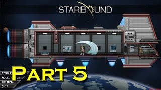 Starbound Let's Play - Episode 5 - Floran Prison