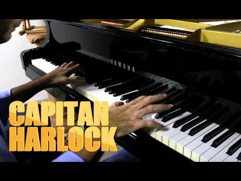 Capitan Harlock sigla piano cover by Fabrizio Spaggiari - Arcadia - La Banda dei Bucanieri