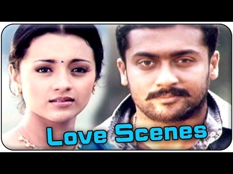 Aaru Movie || Surya & Trisha Best Love Scenes || Surya, Trisha