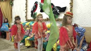 Танец рыбок на новогоднем утреннике 2018 в старшей группе Муз  рук  Максюта Г  В