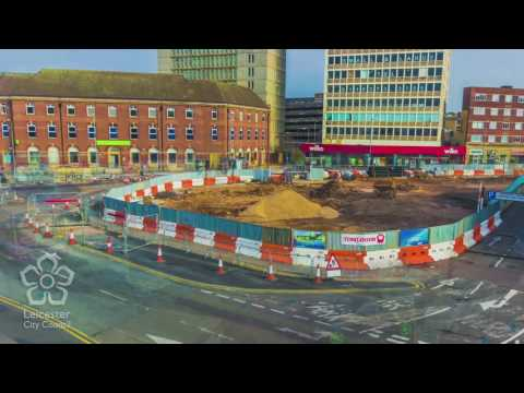 Leicester Haymarket Time lapse timelapsemovie.co.uk