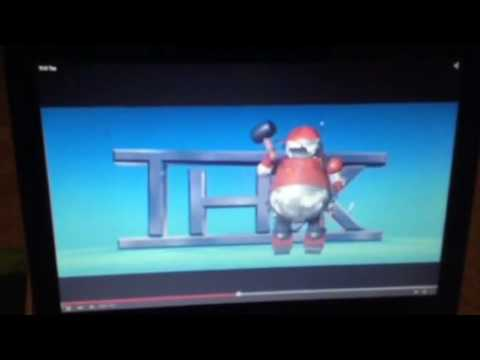 Thx Tex Disneypixar Robot Logo Youtube