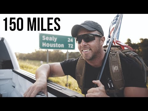 THE 150 MILE RUCK MARCH