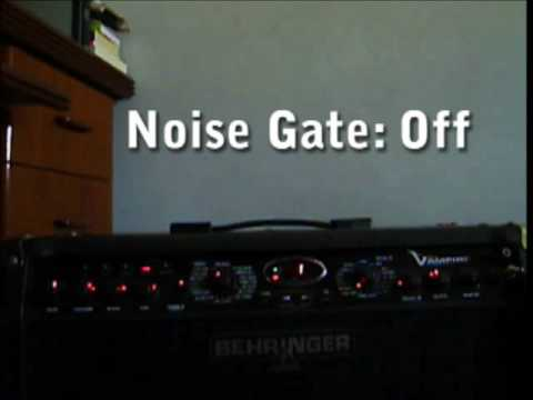 behringer v ampire noise gate test youtube. Black Bedroom Furniture Sets. Home Design Ideas