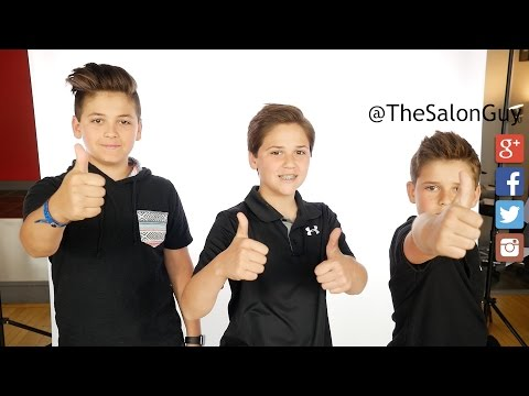 Stylish Haircuts for Boys - TheSalonGuy