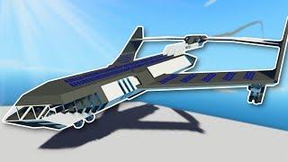 ELECTRIC PLANE CRASH LANDING! - Stormworks Multiplayer Gameplay - Plane Crash Survival