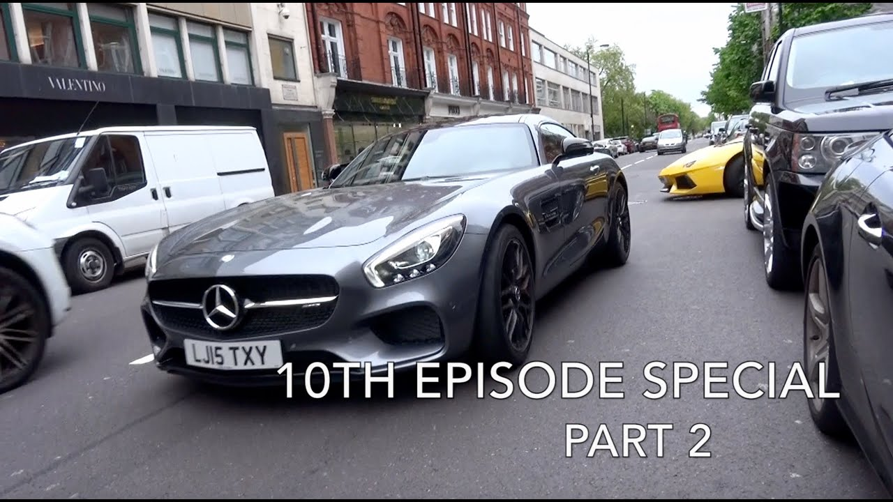 London Supercar Insanity #10.5 - AMG GT, Carrera GT, Aventador Revs + More!