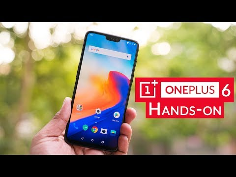 OnePlus 6 with 6 28-inch FHD+ AMOLED 19:9 display