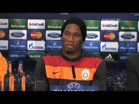 Press Conference: Didier Drogba