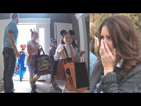 Child Abduction on Halloween (Social Experiment) - Child Predator Dangers