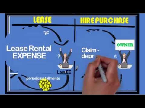 Difference Between Lease And Hire Purchase  Youtube