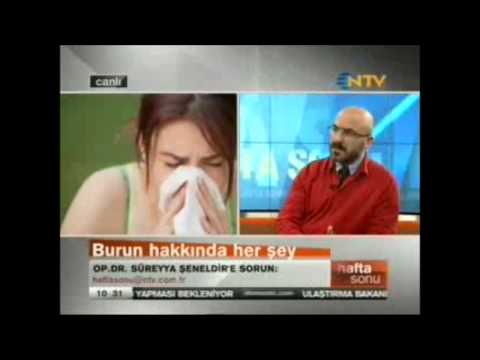 Koku Alamama nedenleri ve tedavisi Op.Dr. Süreyya Şeneldir