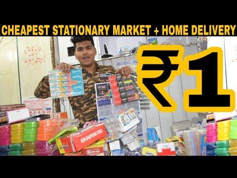 Factory Price Stationary | Manufacturer & Importer | Sadar Bazar | Delhi
