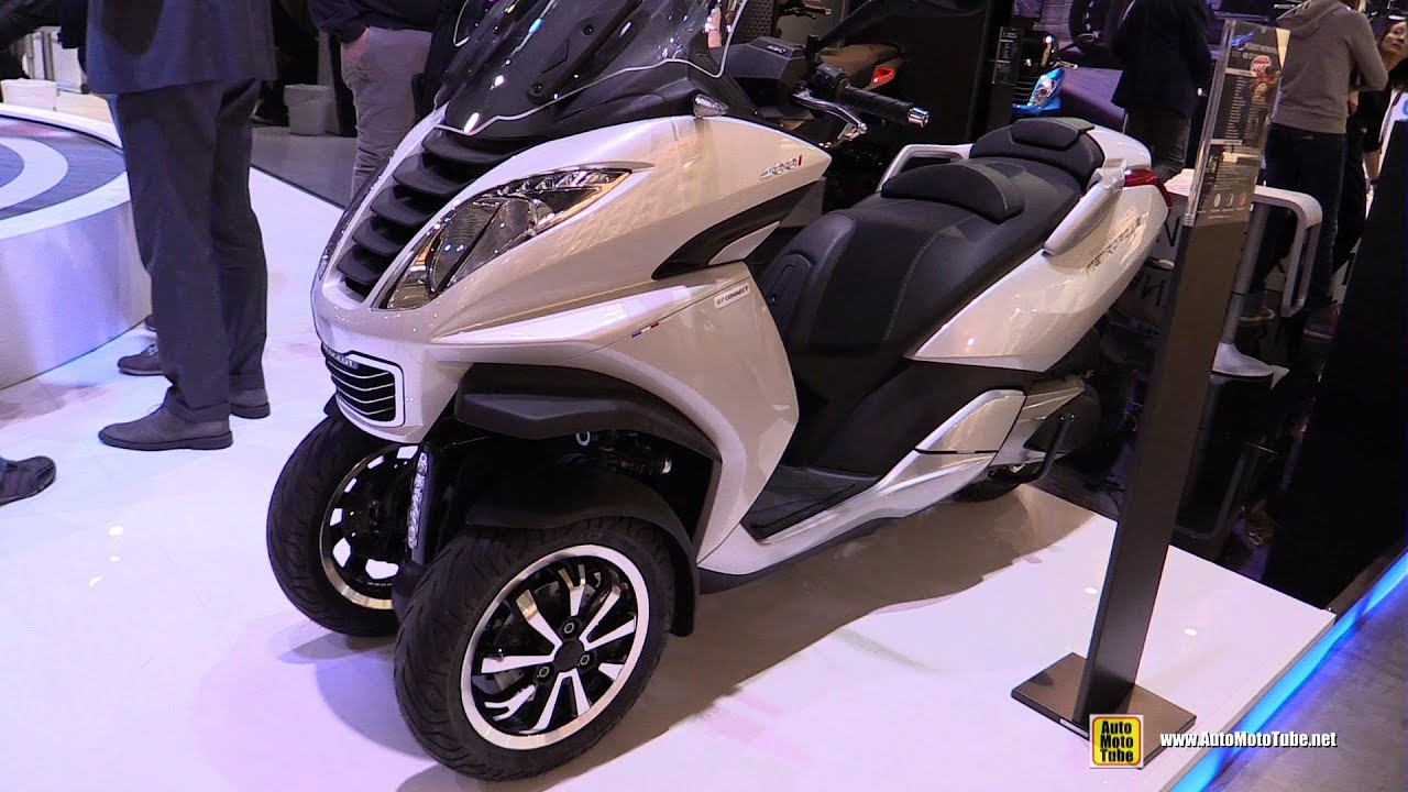 2016 Peugeot Metropolis 400 Gt Connect Scooter Walkaround 2015