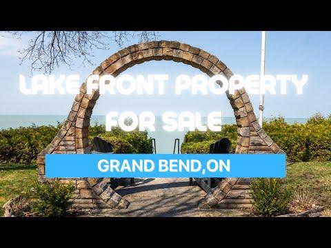 Lakefront Property For Sale   Grand Bend, Ontario   10332 Shoreline Drive   Prime Brokerage