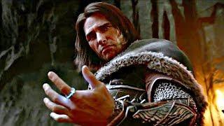 Shadow of War - Full Movie All Cutscenes + Final Boss & All ENDINGS