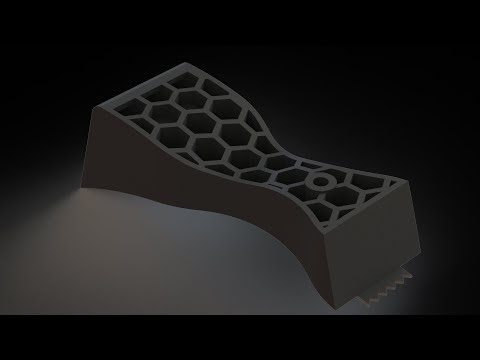How To Model Complex Infill/Supports In Solidworks |JOKO ENGINEERING|