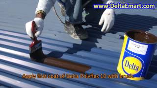 Stop water leakage through metal roof thumbnail
