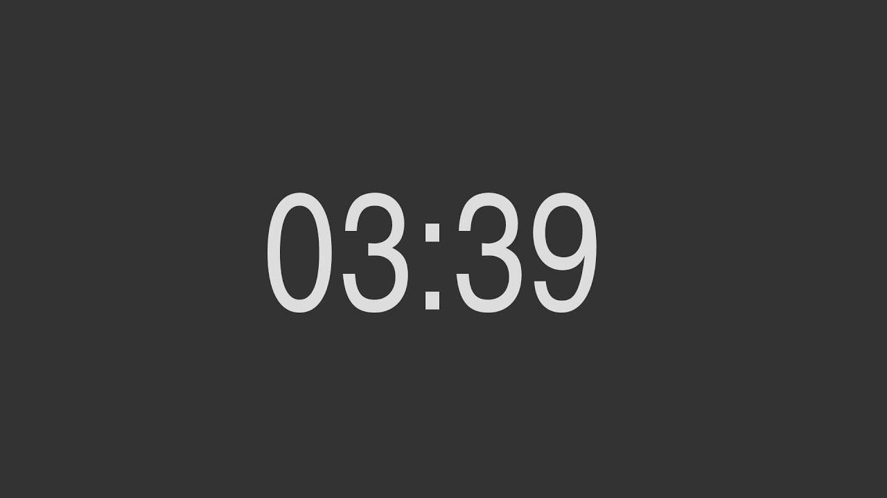 es wird mit dem summerton 3 uhr und 39 minuten  youtube
