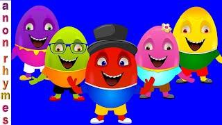 Educational Song For Children   Egg Finger Family   Nursery Rhymes & Kids Songs   Baby Song For Kids