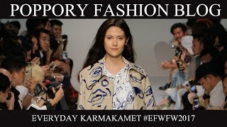 EVERYDAY KARMAKAMET | Elle Fashion Week FW2017 | VDO BY POPPORY