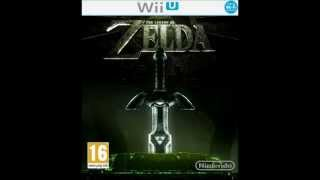 Legend of Zelda HD Wii-U Intro Logo - HD Box Art - Nintendo Release
