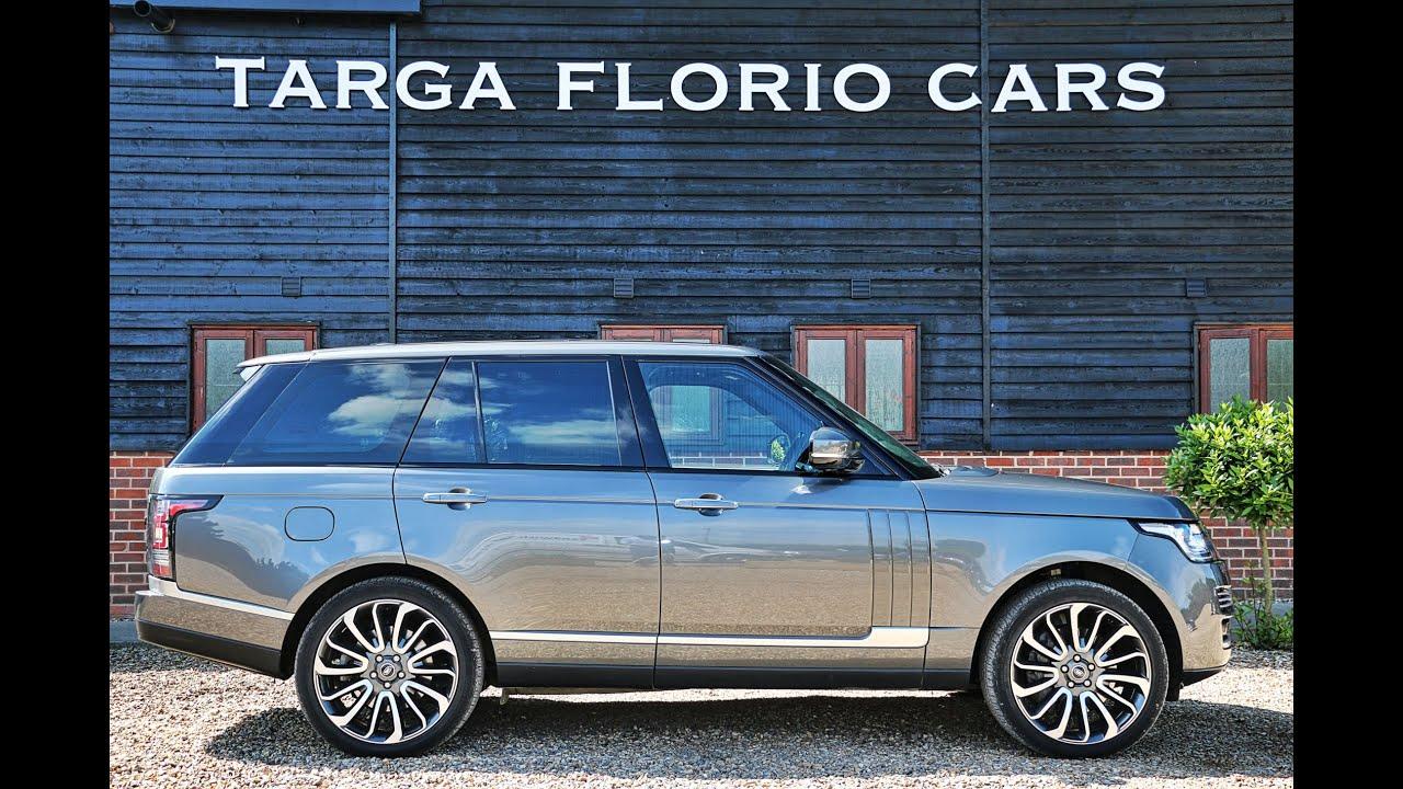Range Rover Vogue SE 4 4L SDV8 Automatic in Corris Grey Metallic