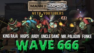 MvM With YouTubers #666 | Mr. Paladin, FUNKe, Ardy, King Raja, HiGPS & Uncle Dane