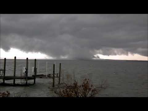 Winter Tornado on the Potomac River