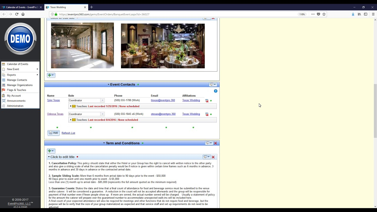 9c94f725a5813 Event Management Software from EventPro360