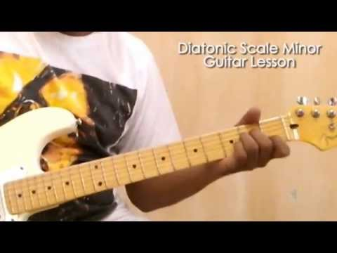Diatonic Scale Minor - Urutan nada Melody Minor Pada Gitar ...