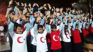 Okulda cumhuriyet Bayramı kutlamaları