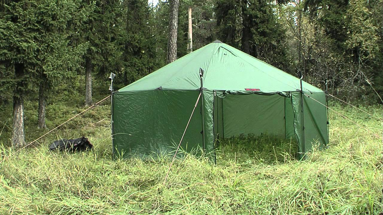 & Hilleberg Altai - Pitching instruction - YouTube