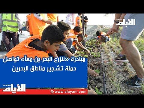 مبادرة «لنزرع البحر ين معاً» تواصل حملة تشجير مناطق البحرين  - نشر قبل 3 ساعة