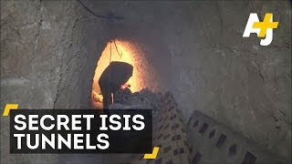 ISIS Dug These Tunnels To Hide From Airstrikes