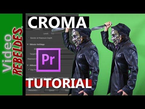 Como usar Chroma key en Adobe premiere:Tutorial (Fondo verde)