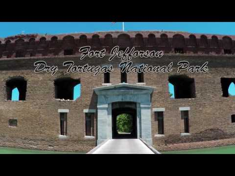 Fort Zachary Taylor Beach &  Fort Jefferson at Dry Tortugas National Park