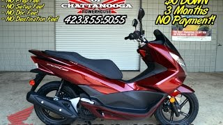 2016 Honda PCX150 Scooter Review of Specs - SALE Prices @ Honda of Chattanooga TN Dealer
