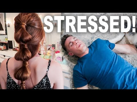 New Hair & Husband is Stressed!