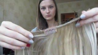 Как сделать обмре мелирование шатуш с помощью волос на заколках(, 2016-01-11T13:07:50.000Z)