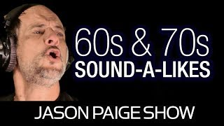 Sound-A-Likes of the 60s & 70s with Jason Paige