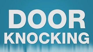 Door Knocking SOUND EFFECT - Heavy Door Knocks Anklopfen SOUNDS