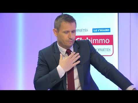 Club Immo Stéphane Beaudet, président de l'association des maires d'Ile-de-France